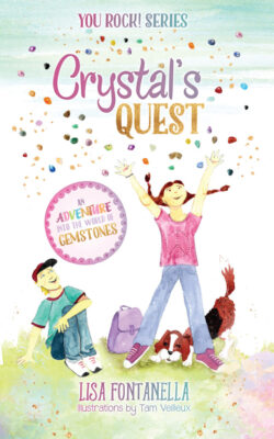 Crystal's Quest Children's Book: An Adventure into the World of Gemstones is the book for you! Explore the world of geology through Crystal's entertaining adventures.