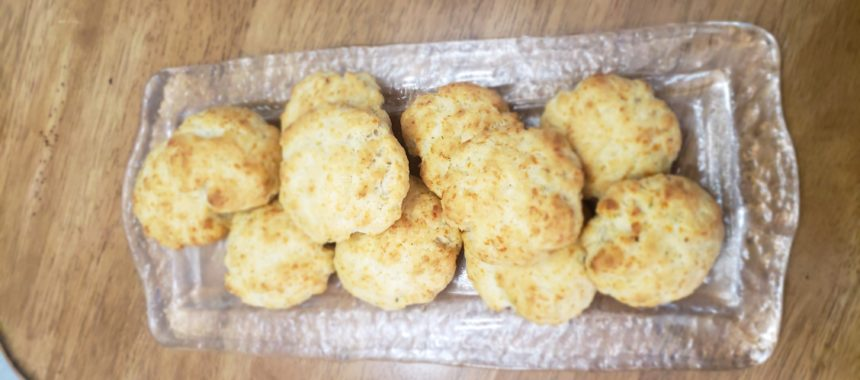 Keto Friendly Cheddar Cheese Biscuits