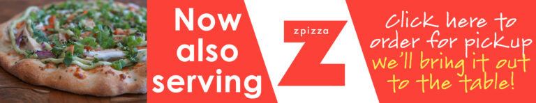 Now serving Z Pizza - click here