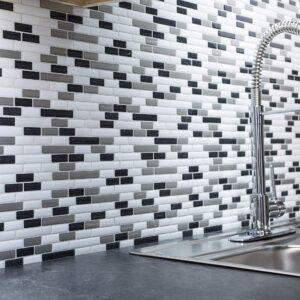 peel and stick kitchen tile backsplash