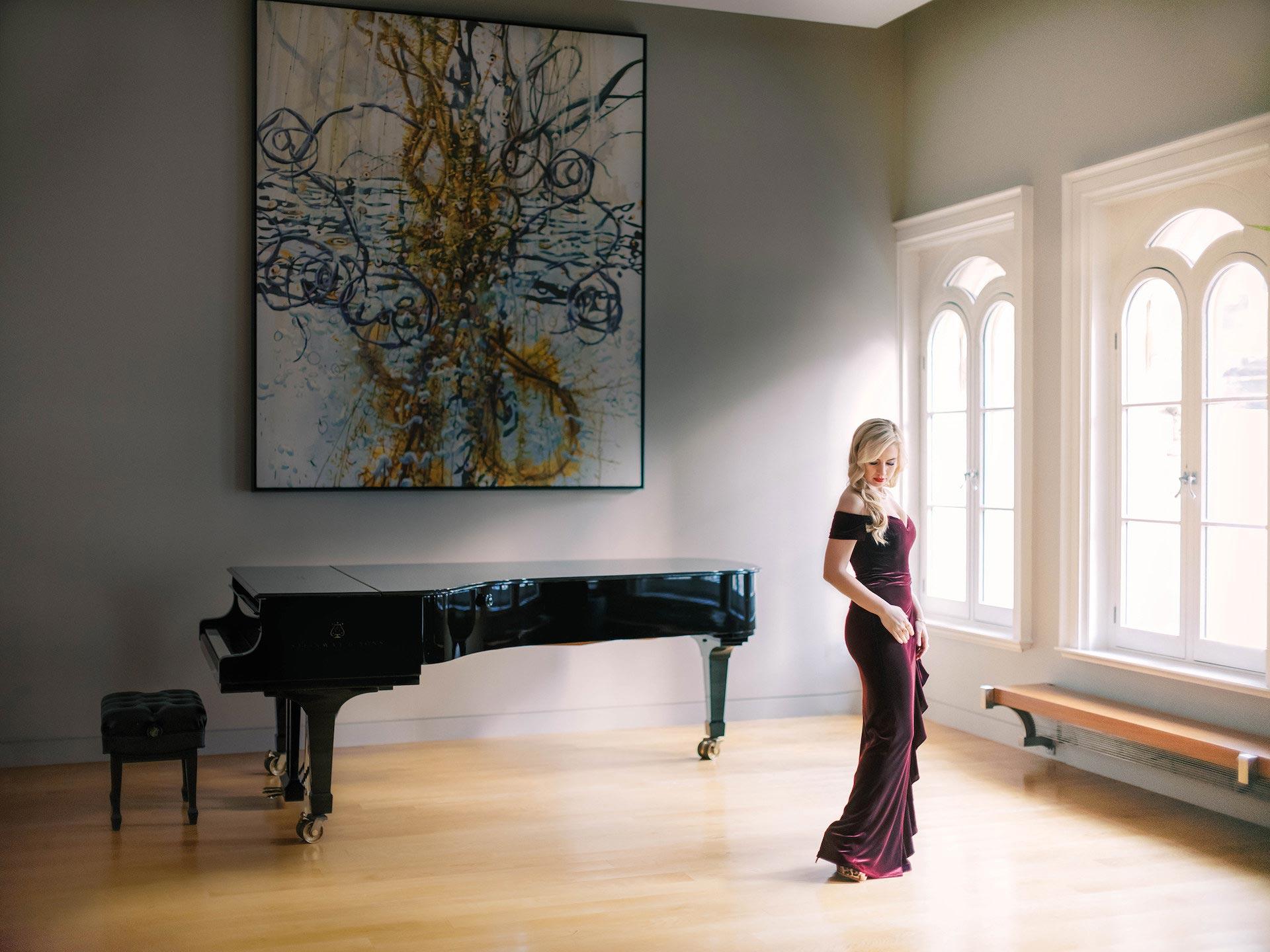 Pianist Natasha Paremski Shines in Rachmaninoff Piano Concerto