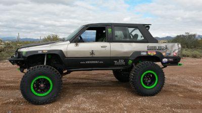 Toyota Rock Crawler Build