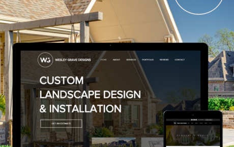 Wesley Graves Designs | Landscaping Web Designer | Landscaping Web Design | Landscaping Graphic Design