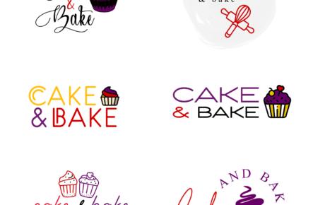 Cake & Bake Logo Design | Bakery Logo Design | Baker Logo Design
