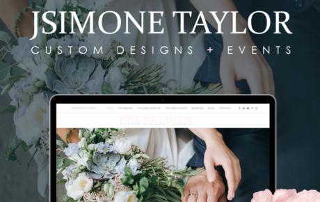 JSimone Taylor Website | Wedding Planner Website Designer | Interior Design Website Designer