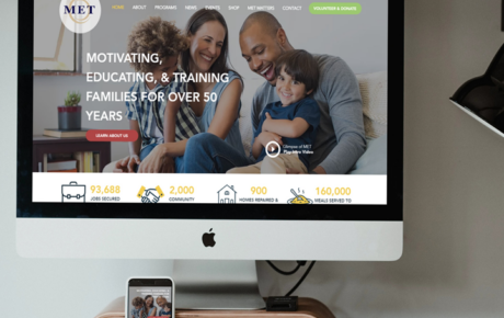 MET Post | Non Profit Website Design