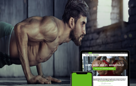 NBS Training 13 | Fitness Website Designer | Gym Website Designer