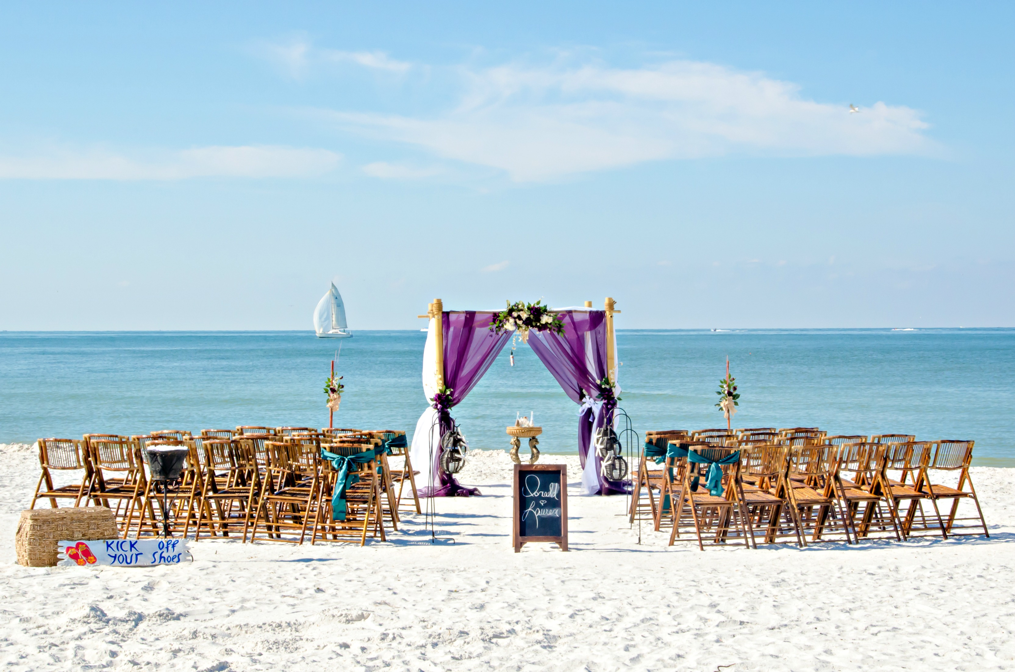 Perfect Day Beach Wedding in Florida Package
