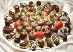 strawberry apple platter