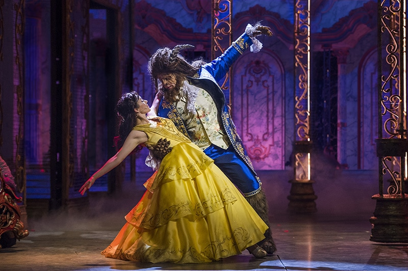 Watch Beauty and the Beast Show from the Disney Dream