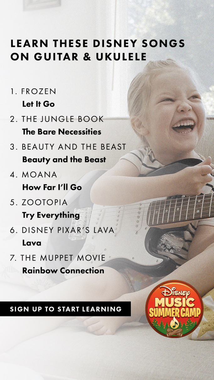 Learn to Play Disney Songs from Fender Play
