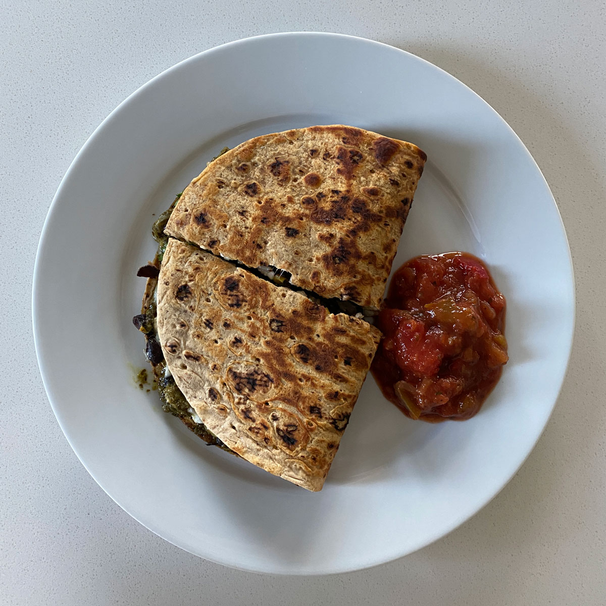 Rio Vegetarian Quesadilla Recipe