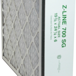 z line 700 sg extended surface air filter