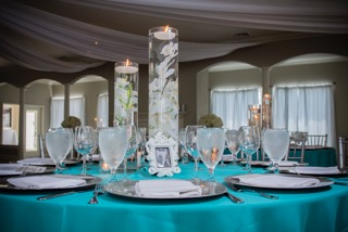 basic decoration by Monica at trendy wedding style
