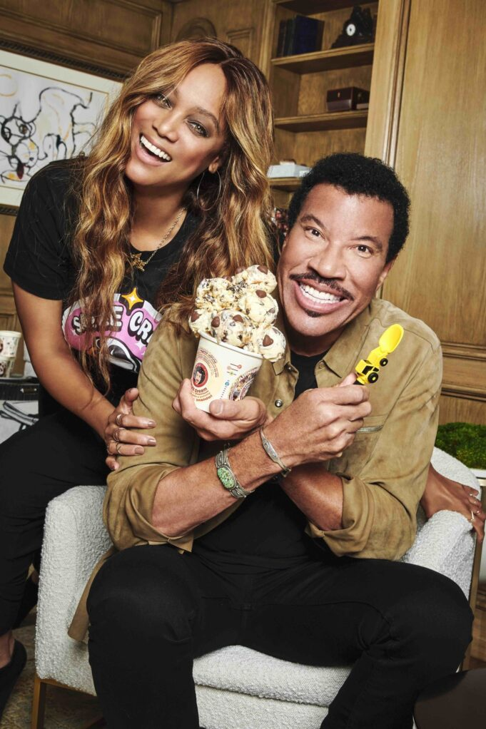 Lionel Richie Partners With Tyra Banks