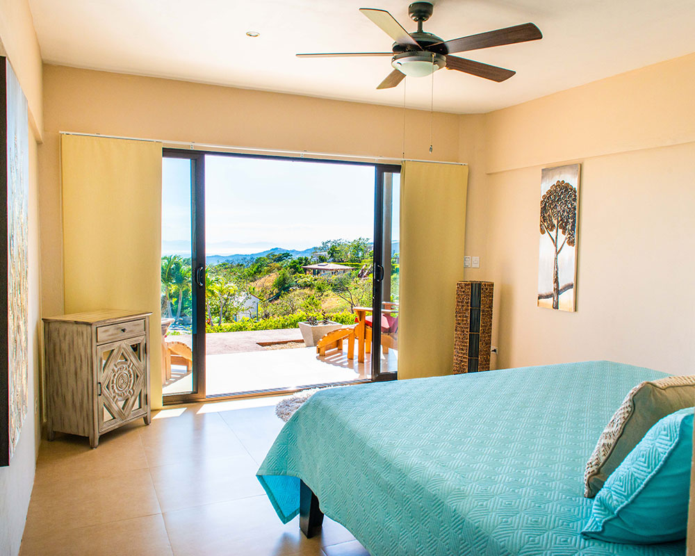 Our pool front rooms boast views of the beautiful Costa Rican landscape