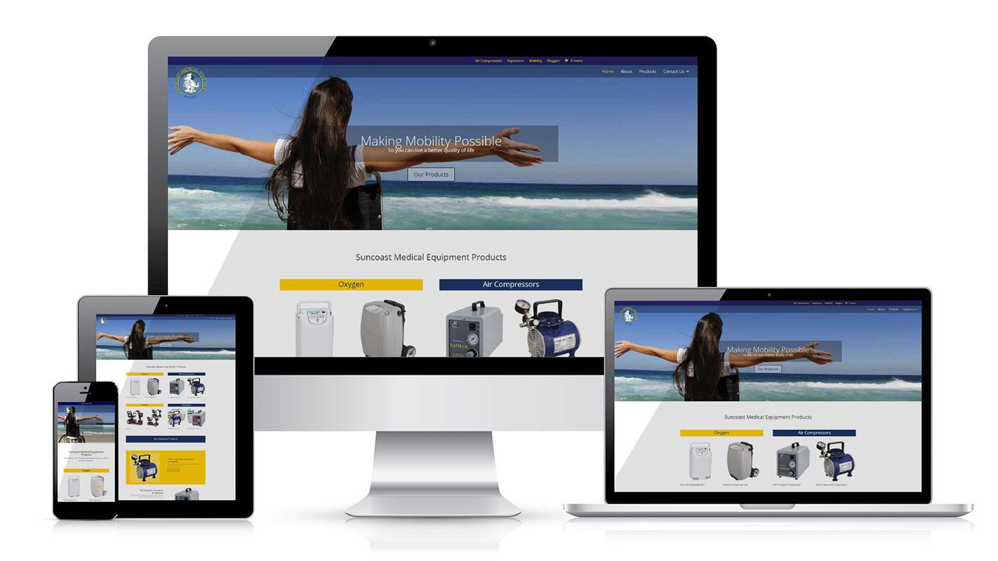 New Website Suncoast Medical Equipment
