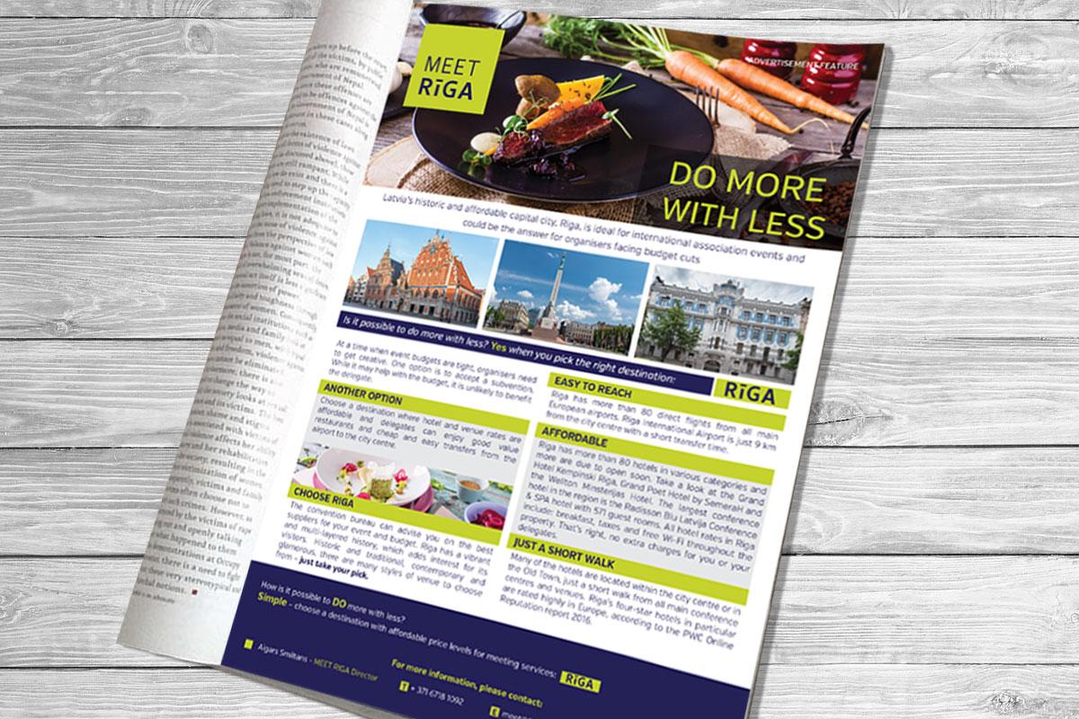 1 Page Magazine Ad