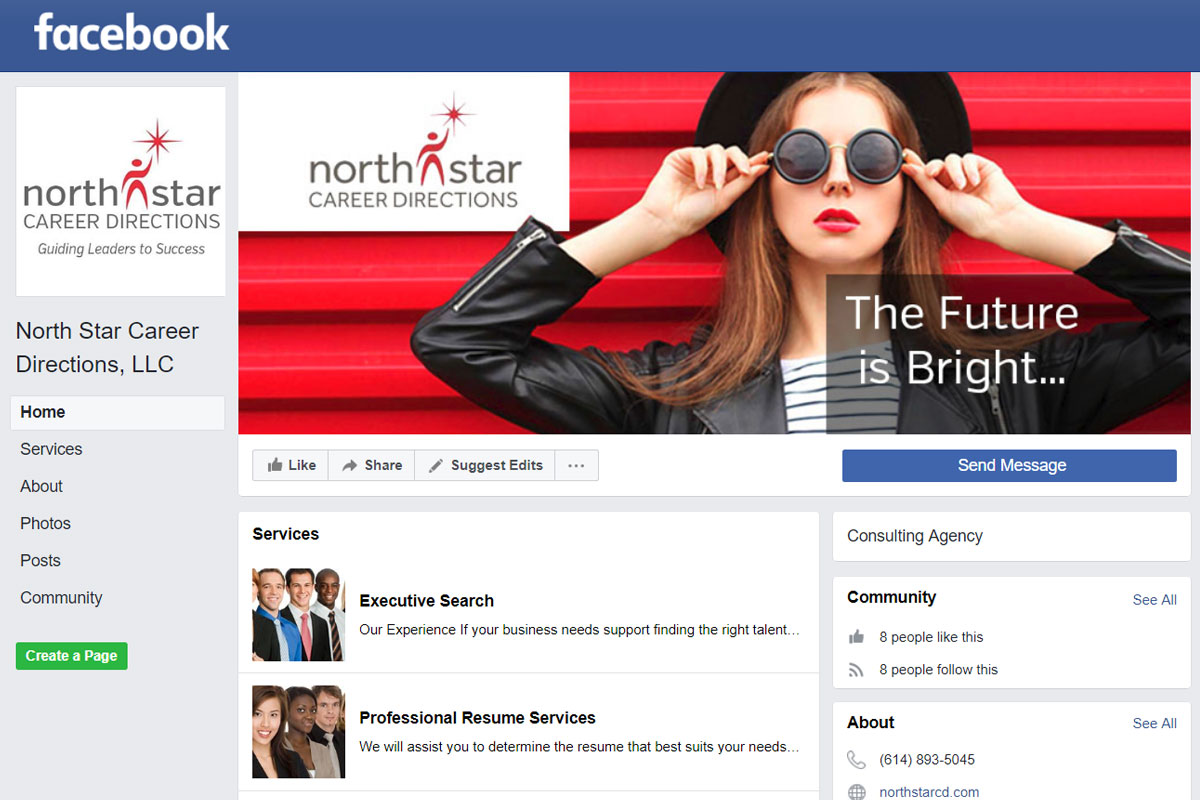North Star Career Direction Facebook Page