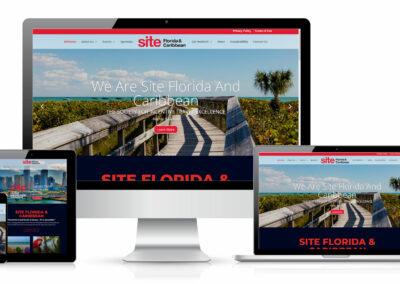 SITE website design
