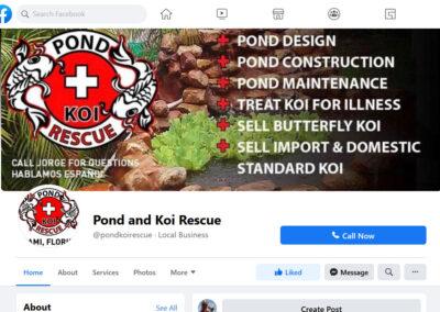 FB-Pond-Koi-Rescue Facebook