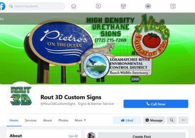 Rout-3D Facebook