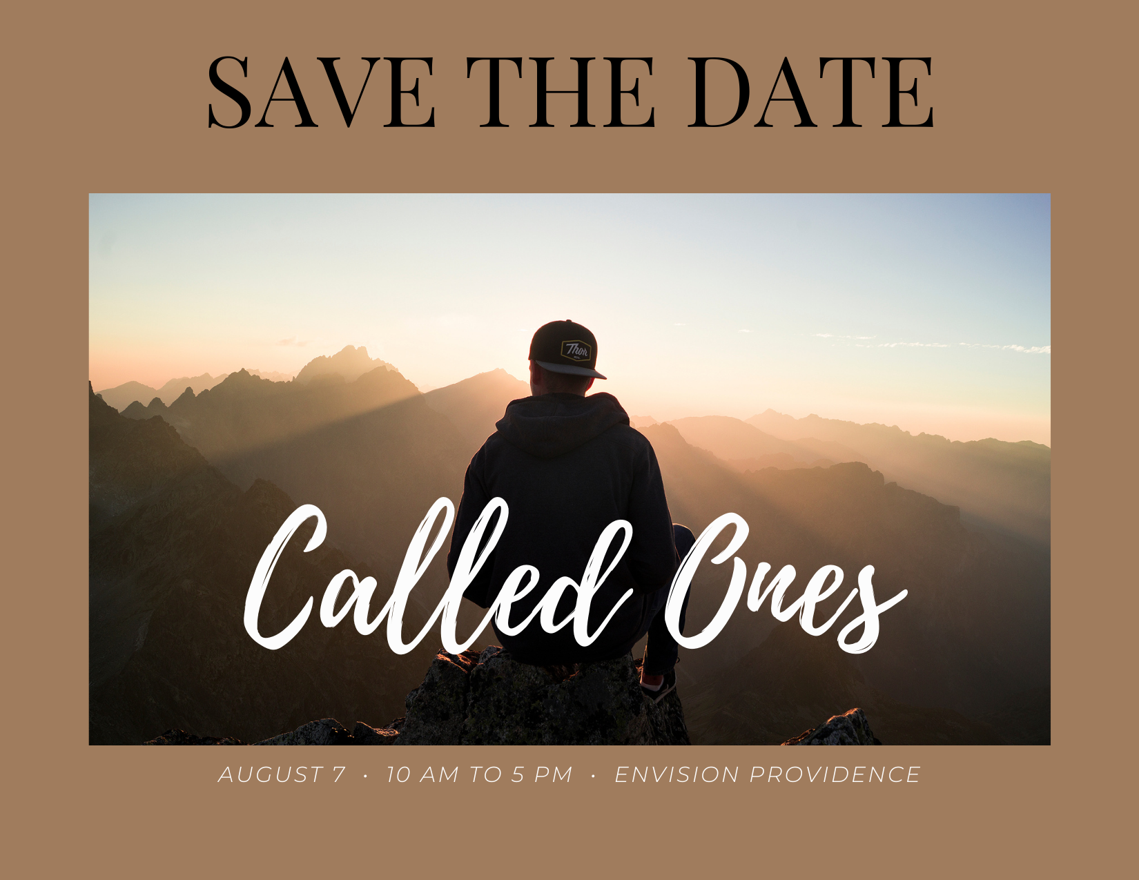 SAVE THE DATE: 2021 Called Ones Gathering August 7
