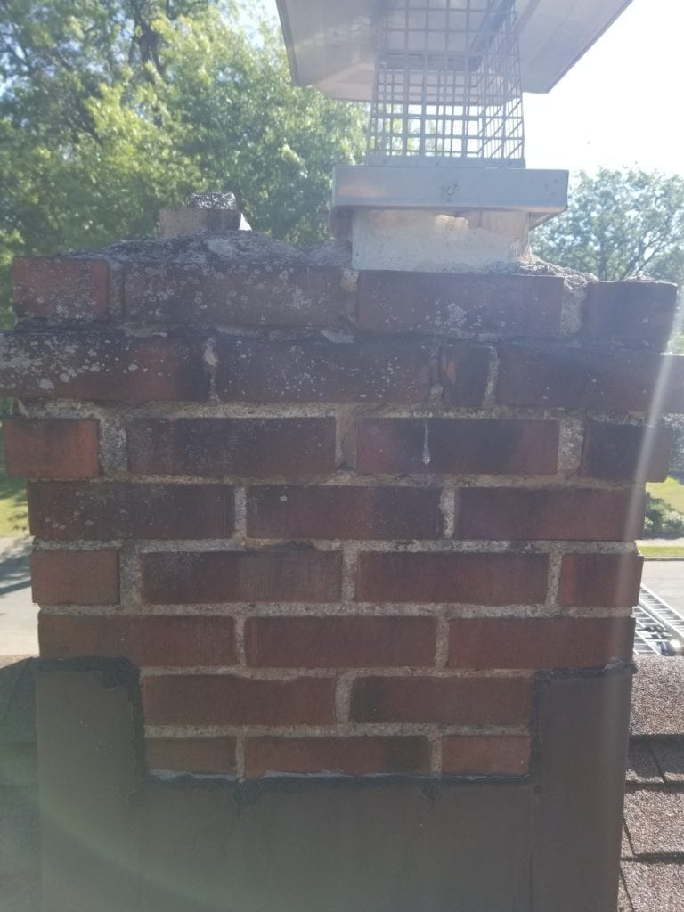 chimney cleaning cleaners caps fireplace flue damper doors chimney repair relinging smoke chamber crown leaks water repellent smoke problem flashing masonry tuckpoint dryer vent cleanin (3)