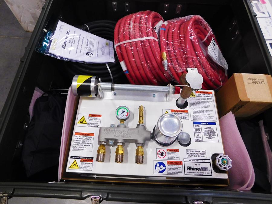 Aircraft Fuel Tank Maintenance Equipment