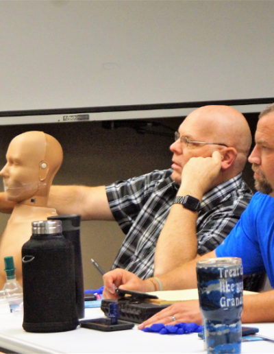 Image of students in CPR class