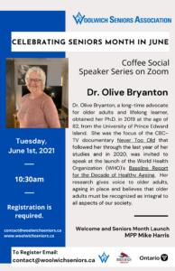 Dr Olive Bryanton