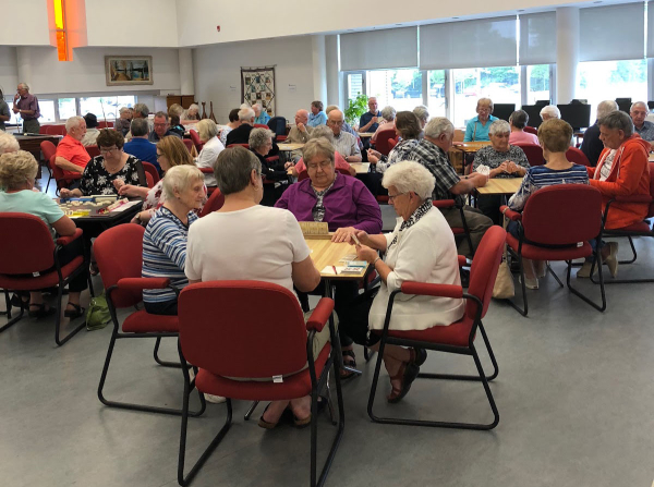 Cards at Woolwich Seniors Association