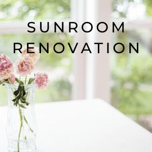 DIY sunroom renovation tips