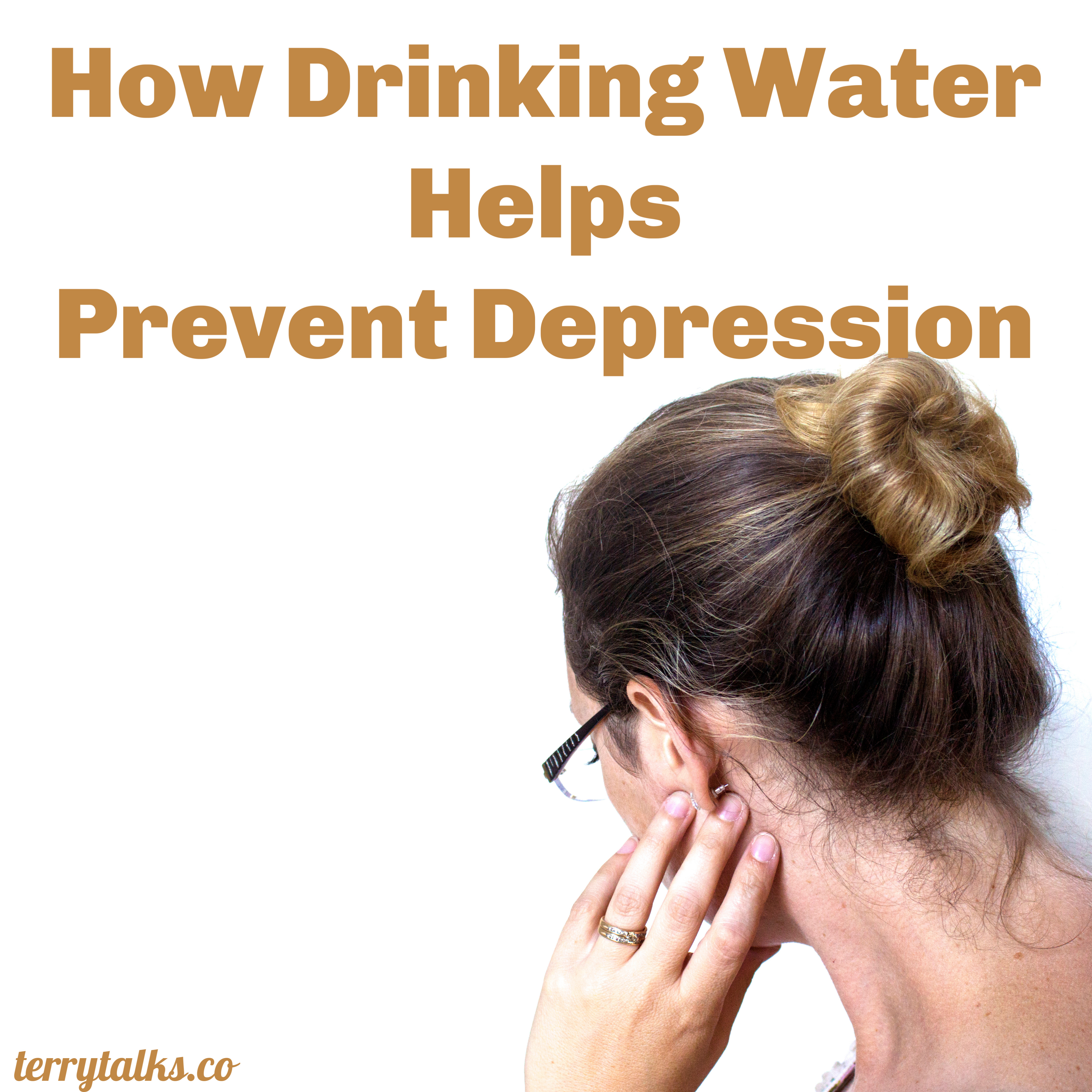 How Drinking Water Helps Prevent Depression