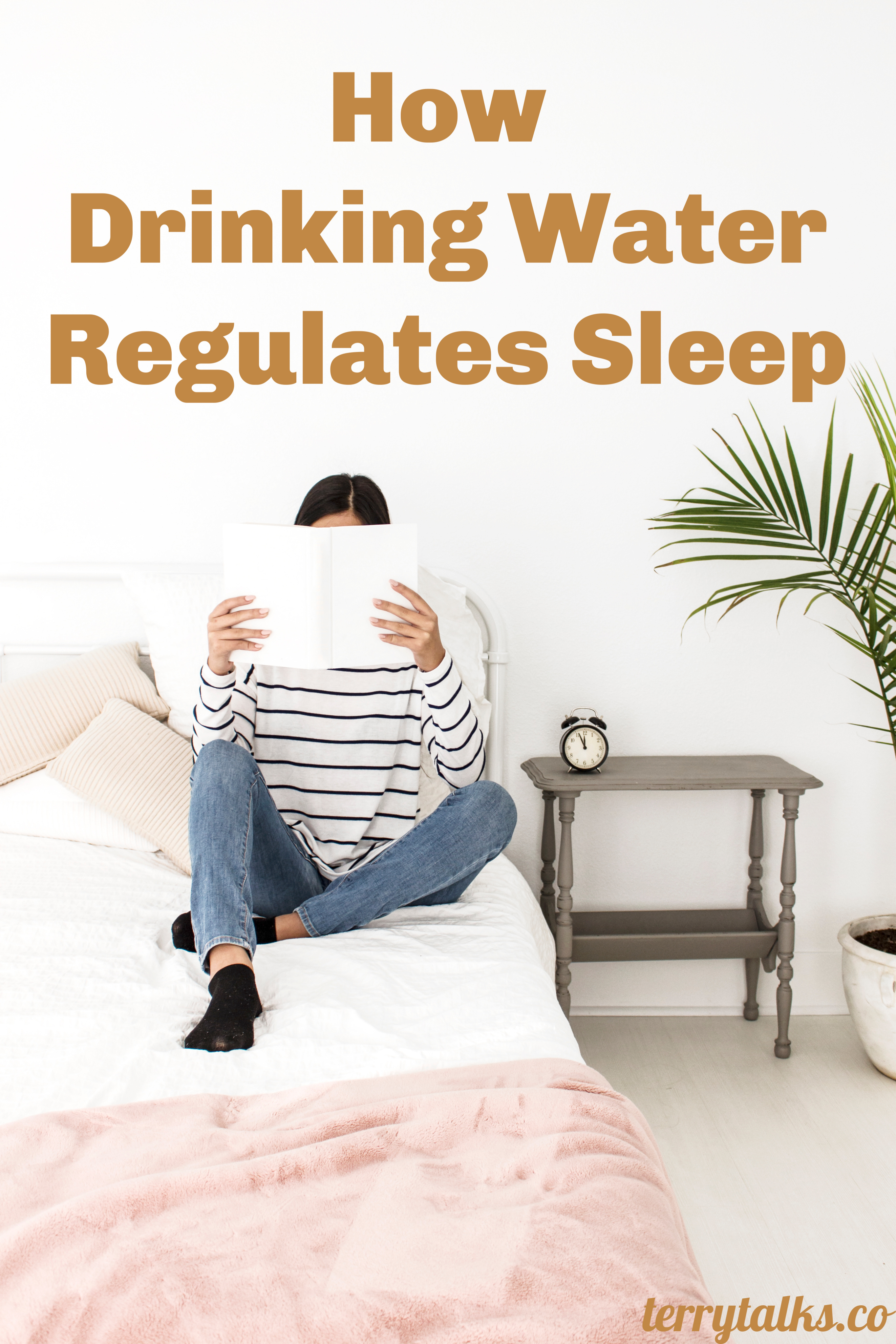 How Drinking Water Regulates Sleep