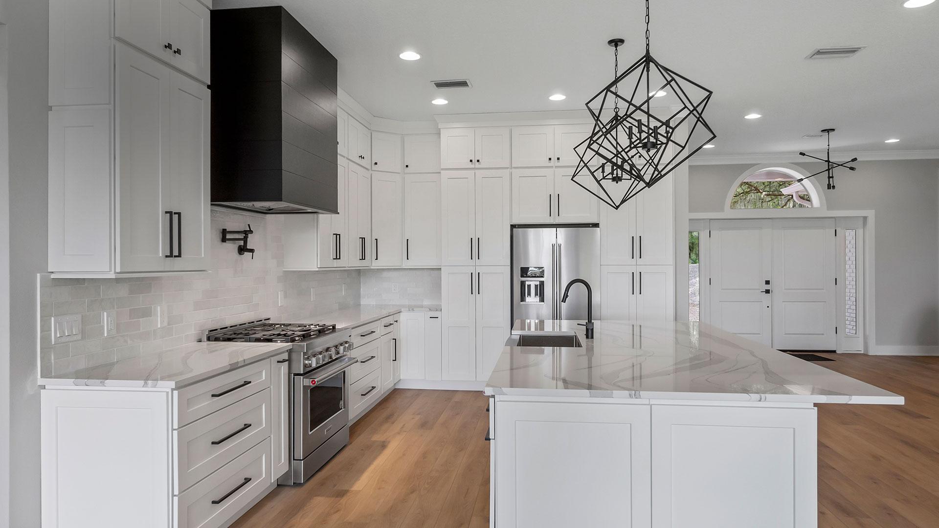Kitchen remodel by Boulder Construction