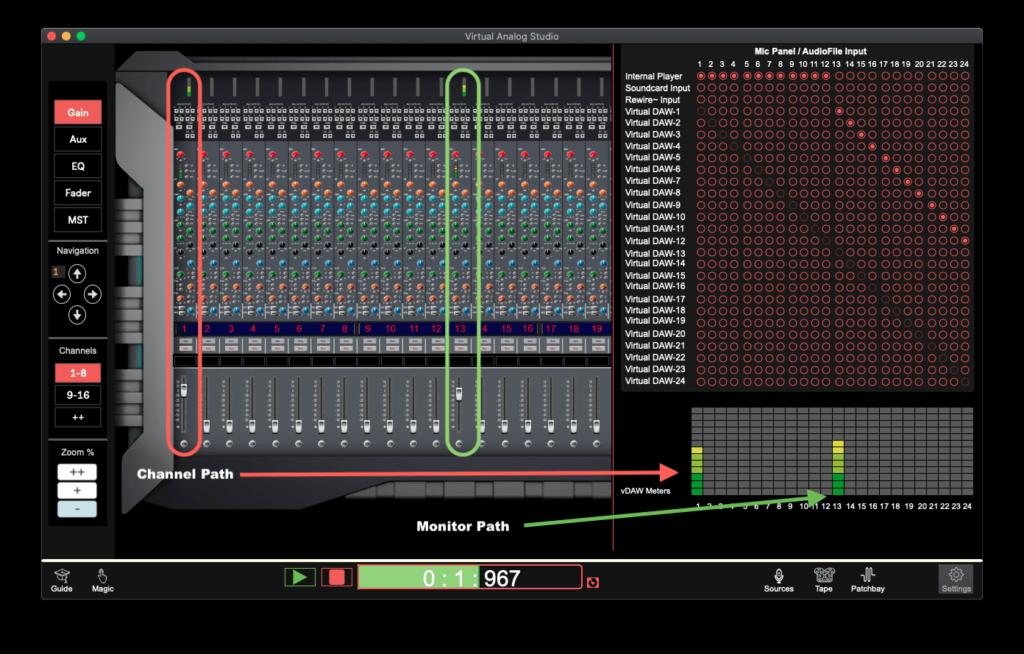 Soundcheck Split Console