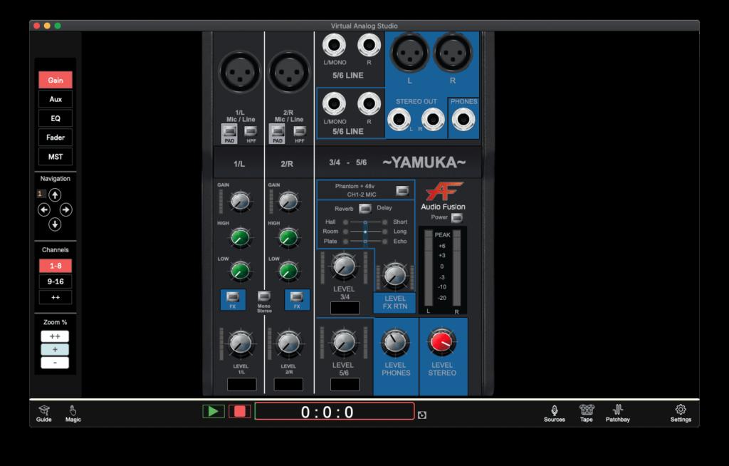 SoundcheckPro_Yamuka_FreeMixer