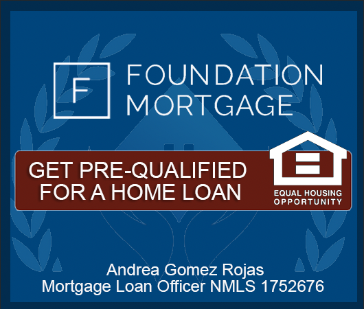 GET PREQUALIFIED FOR A HOME LOAN ANDREA GOMEZ ROJAS MIAMI