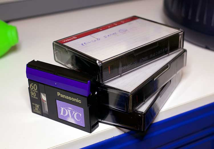 mini dv tape to USB memory stick