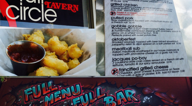 Don't Be a Square, Check out Full Circle Tavern