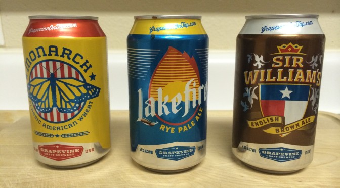 Product Review: Grapevine Craft Brewery