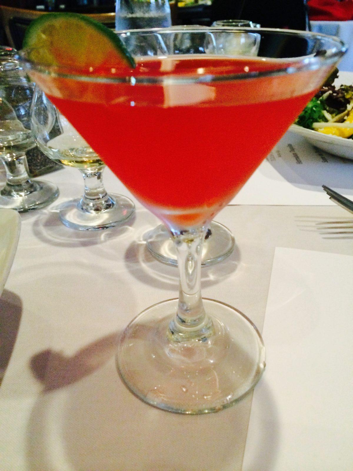 Cantina Laredo's Santiago Cocktail