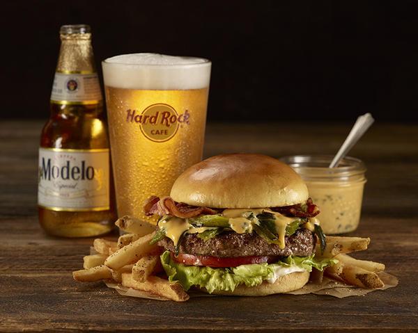 Hard Rock Cafe Modelo Burger Special