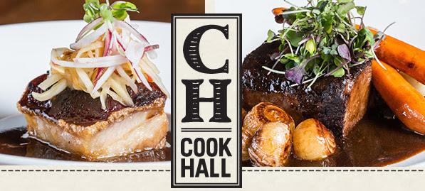 cook hall new menu