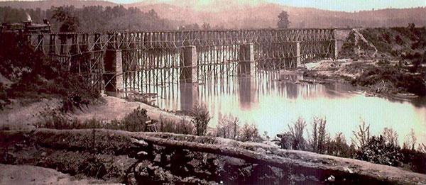 Post Civil War Period Etowah Bridge