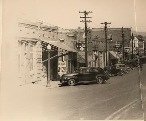 Cartersville West Main Street, circa 1939