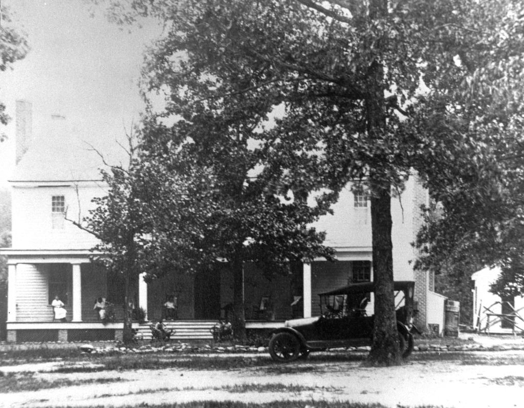 Destroyed 1948 by tornado