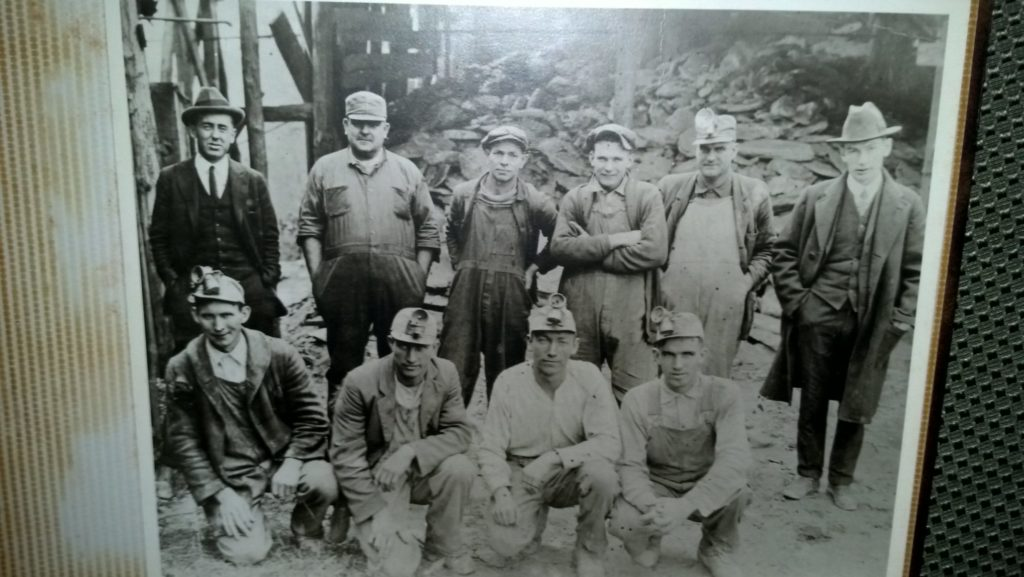 John Rampley foreman, 2nd from left top row