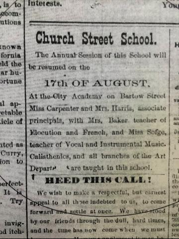 Cartersville American 10/27/1885